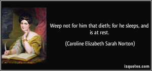More Caroline Elizabeth Sarah Norton Quotes