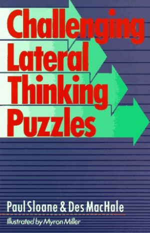 """... by marking """"Challenging Lateral Thinking Puzzles"""" as Want to Read"""