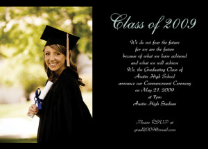 Read many more masters graduation invitations wording on our site here ...