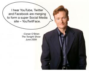 Conan O'Brien socialfresh.com