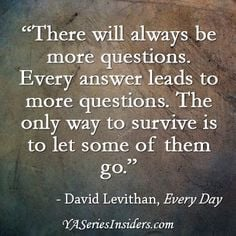 ... quot, every day david levithan, book fandom, david levithan every day