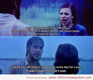 The Notebook (2004) love quote