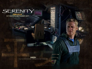 Firefly Serenity Wash - Pilot extraordinaire.
