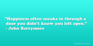 John Barrymore Quote