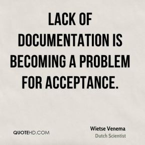 Wietse Venema - Lack of documentation is becoming a problem for ...