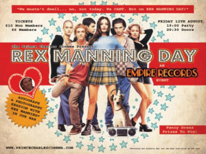 Happy REX Manning day! (Say no more, mon amor)
