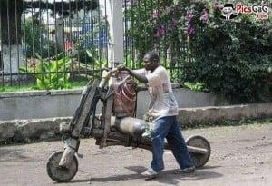 Funny African Bike