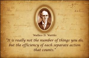 Napoleon Hill Wallace D. Wattles