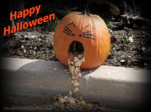 Halloween-quotes-funny-pumkin-sick
