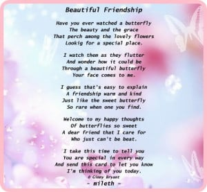 Beautiful Friendship Poems Quotes ~ Friendship Poems For Him   quotes ...