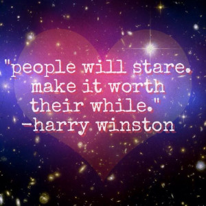 Quote of the Day:Harry Winston:
