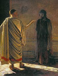 Nikolai Ge , Christ and Pilate (