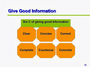 Communication Basic communication principles