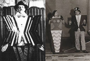 Tristan Tzara's Dadaist play, The Gas Heart , 1920's. Costumes by ...
