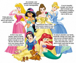 What Has Disney Taught You? What Does Disney Teach Your Little Girls?
