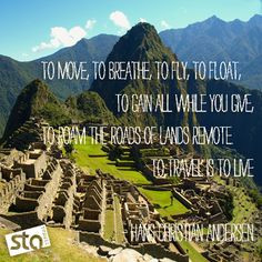 ... , to breath, to fly to float.... to travel is to dream. Travel Quotes