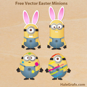 Happy Easter Minions