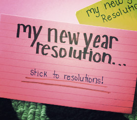Funny New Years Resolutions...