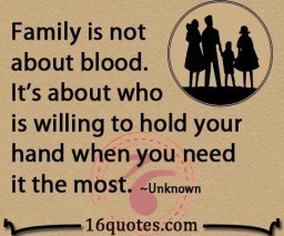 to each other at times but in the end family is family the love will ...
