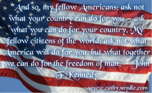 Patriotism is your conviction that this country is superior to all ...