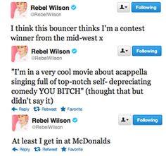 Rebel Wilson funny Twitter quotes