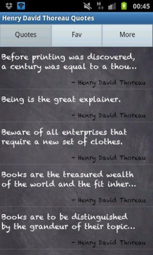 View bigger - Henry David Thoreau Quotes for Android screenshot