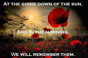 To mums who have lost their sons to war – Lest We Forget.