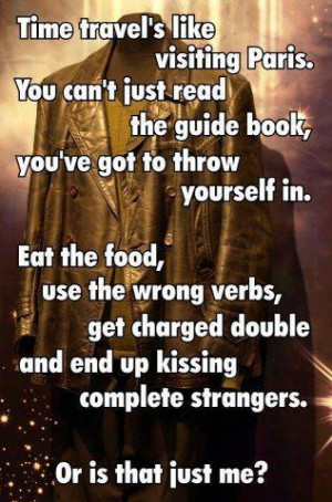 Love this quote from the 9th Doctor!