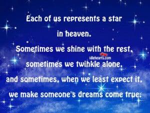 my star in heaven