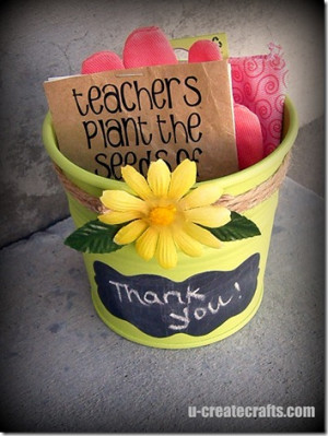 Gardening Gift {teacher appreciation}