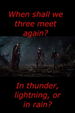 ... The Avengers funny||Marvel||Shakespeare quotes||Macbeth quotes||LOL