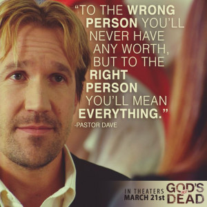 Dead - David A.R. White as (Pastor Dave) in God's Not Dead the movie ...