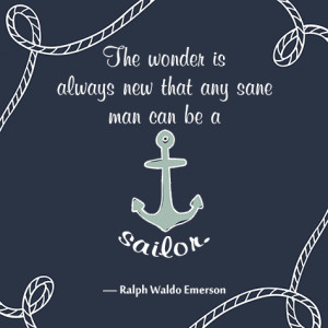 ship and sailing quote on sailor