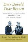 Dear Donald Dear Bennett The Wartime Correspondence of Bennett Cerf ...