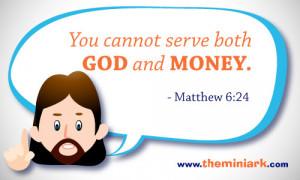 The Mini Verse – Matthew 6:24