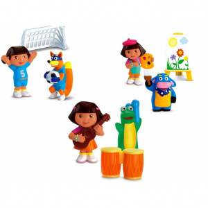 dora the explorer play figures cute dora the explorer play figure sets ...