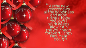 Happy New Year Eve Quotes Inspirational   Motivational Quotation