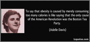 To say that obesity is caused by merely consuming too many calories is ...