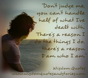 Don't Judge me | Eye Opener