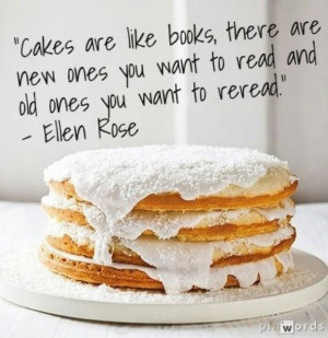 Bake Book Cook Cute Quote...