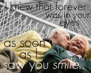 want to grow old with you