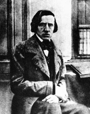 Única fotografía de Chopin. Se cree que fue tomada en 1849, poco ...
