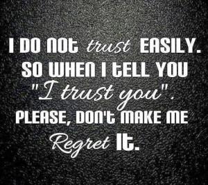 to Trust Again Quotes , Trust Issue Quotes Tumblr , Trust Issues ...