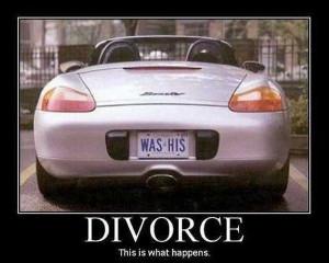 car-humor-funny-joke-divorce [ Licence Plate After Divorce ]