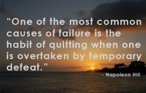 Great quote to keep me motivated