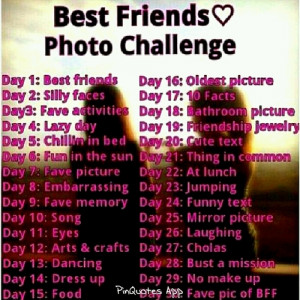 ... this image include: challenge, Best, best friend, friends and photo