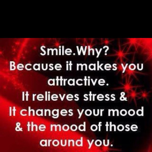 Was noticing less people smile back nowadays... Smile! It could make ...