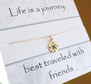... , Friendship necklace, best friends gift, 2013 graduation gift idea