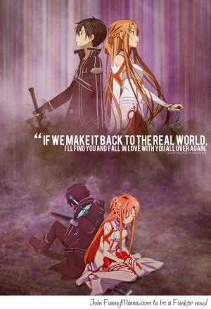 Sword Art Online Kirito x Asuna