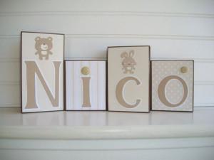 ... Mama, Nurseries, Baby Names Block, Ressielillian Etsy Com, Bears Room